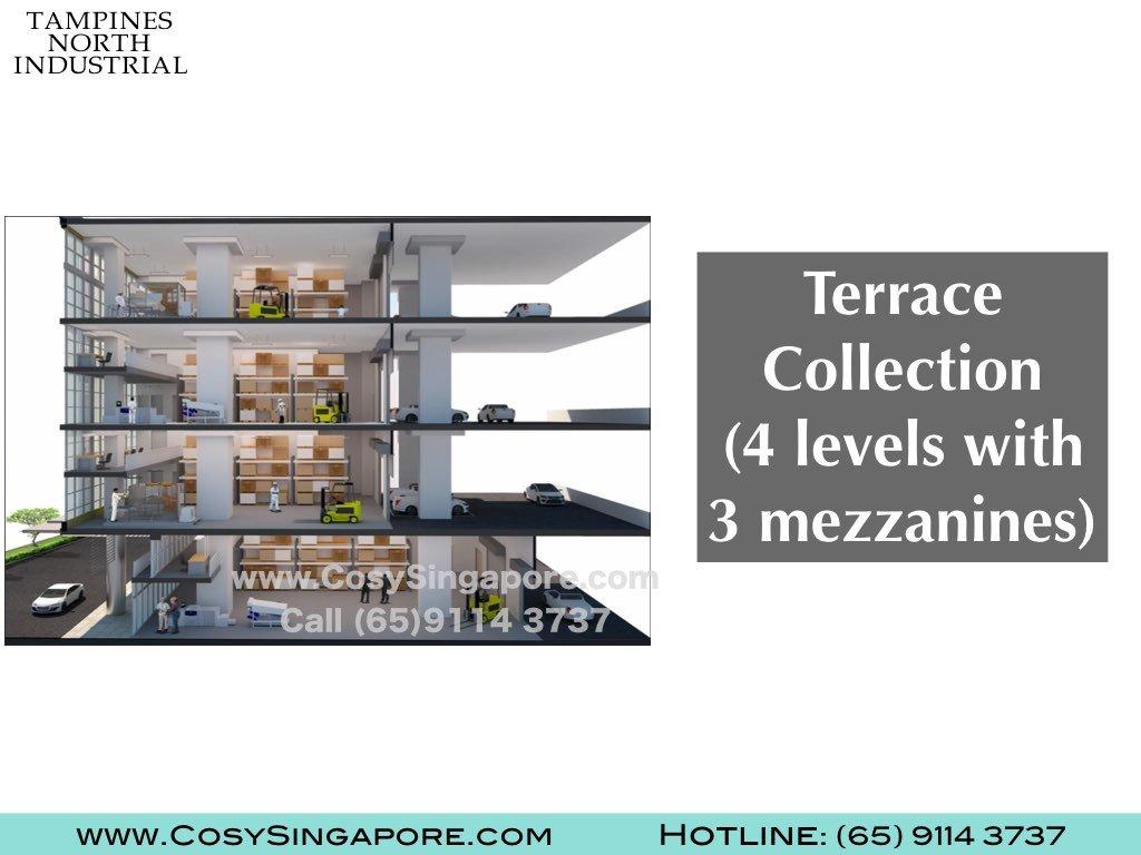 4 storey 3 mezzanine industrial