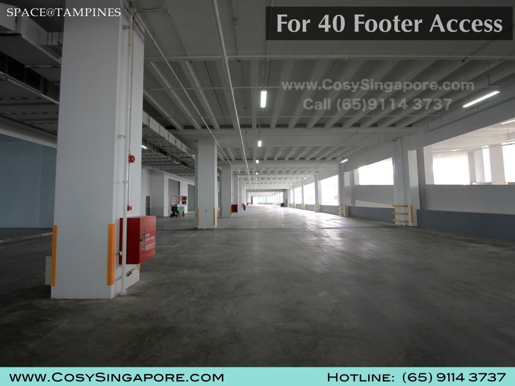 Space Tampines 40 footer access