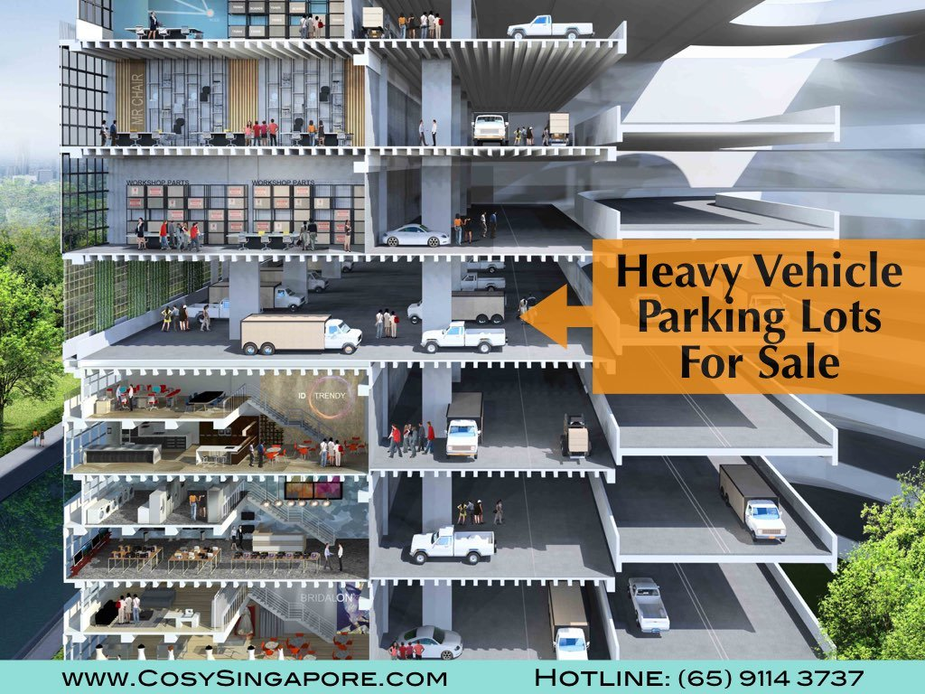 Heavy Vehicle Parking Lots for Sales Singapore