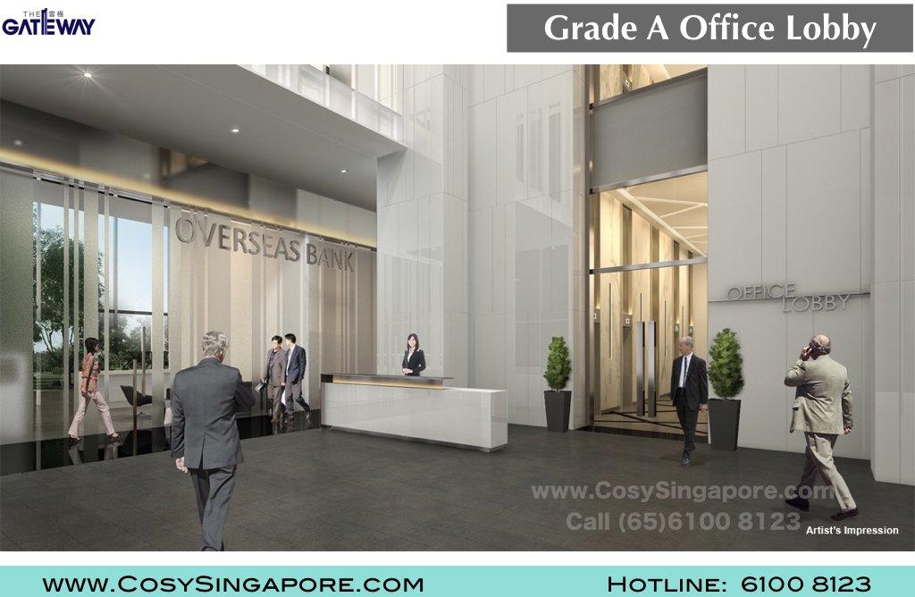 The Gateway Office lobby