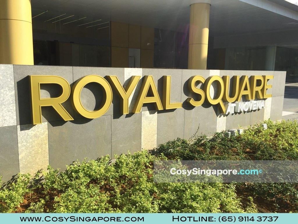 royal square novena entrance