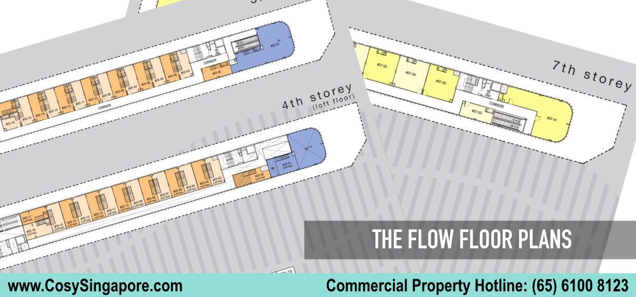 the flow floor plan