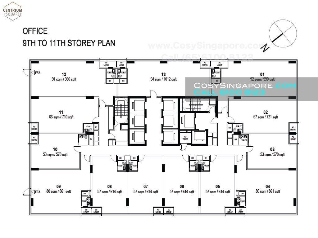 centrium square floor plans lower