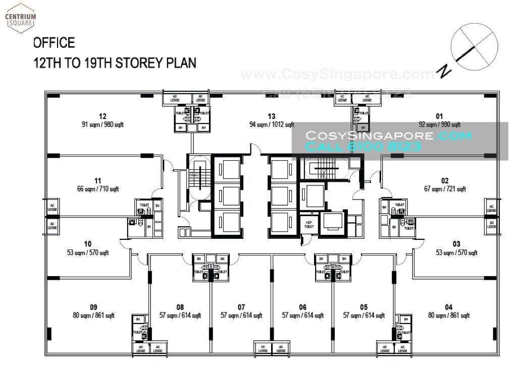 centrium square floor plans higher