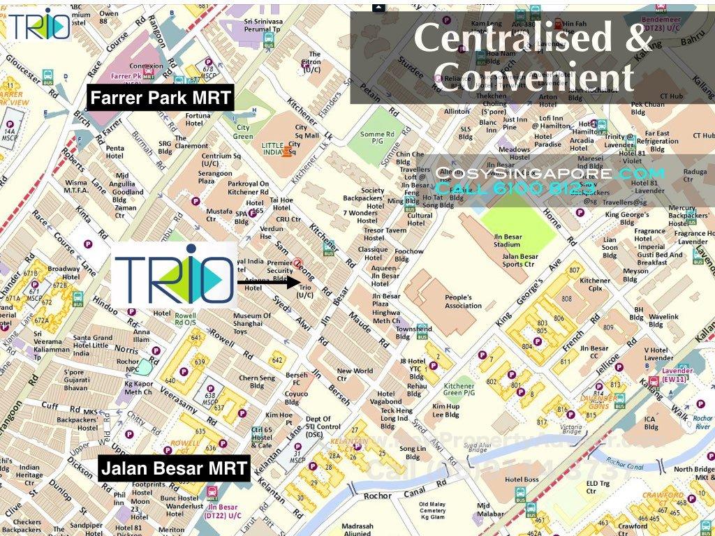 trio location central singapore