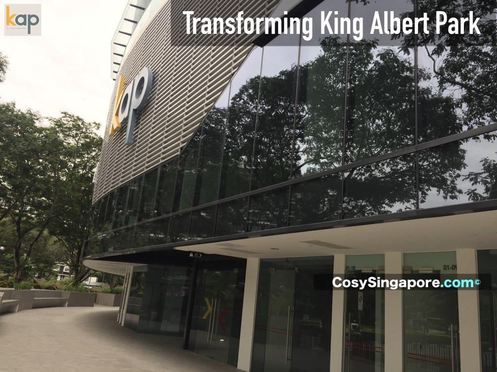 transforming king albert park