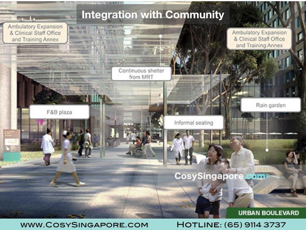 Healthcity Novena Singapore enviornment