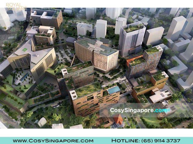 Royal square Novena Health City