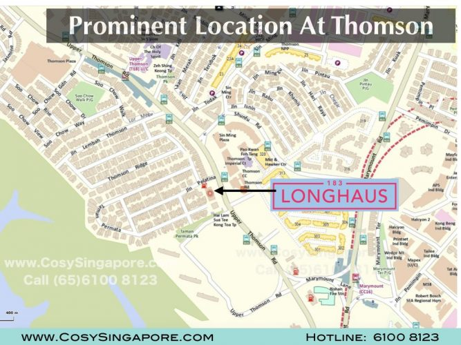 longhaus location at Thomson