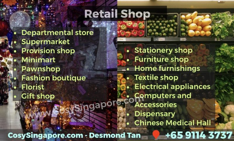 Retail approved trade singapore