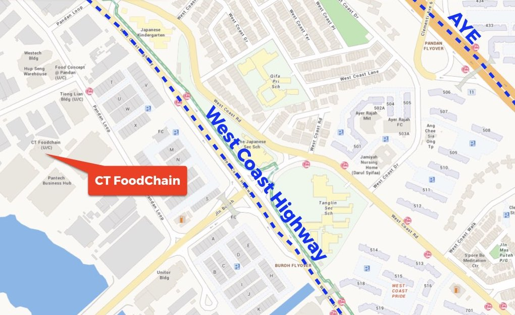 map-to-ct-foodchain-food-factory-singapore
