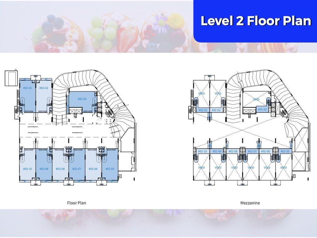ct-foodchain-floor plan-level-2