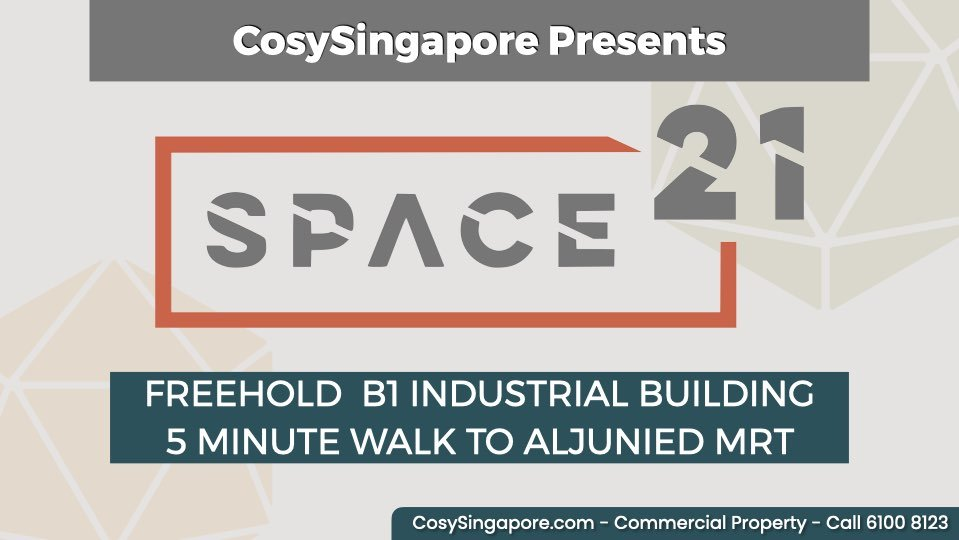 Cosysingapore introducing Space 21