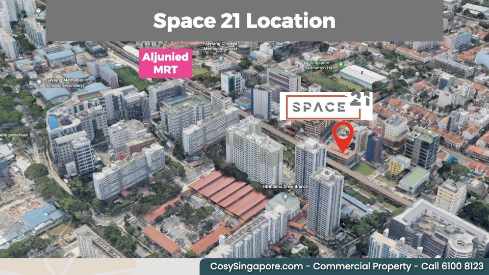 Space 21 5 mins to mrt